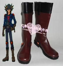 Yu Gi Oh 5D's Yusei Fudo Fudo Yusei cosplay shoes boots Custom-Made 334