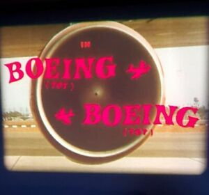Boeing Boeing 1965 ~16 mm RARE IB TECHNICOLOR ~ Jerry Lewis Tony Curtis