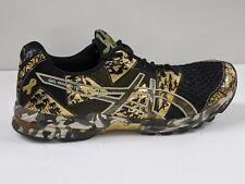 ASICS Men's Gel Noosa Tri 8 Dynamic Shoes Gold/Black  IGS Running Shoes camo sol