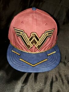 NEW ERA 59 FIFTY JUSTICE LEAGUE WONDER WOMAN FITTED MENS HAT 7 3/8 MULTICOLOR