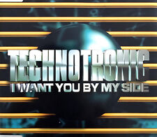 Technotronic Maxi CD I Want You By My Side - Belgium (EX+/VG+)