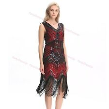 FLAPPER FRINGE 1920s GREAT GATSBY PARTY SEQUIN LATIN DRESS Gorgeous dress New