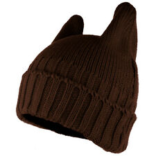 PUSSYHAT Warm Embellished Cat Ear Knit Winter Beanie Hat 17 Colors!