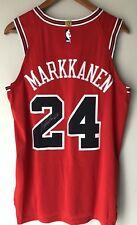 Lauri Markkanen Nike Aeroswift Authentic Chicago Bulls Autographed NBA Jersey