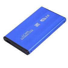 """BOX USB 3.0 PER HARD DISK SATA 2,5"""" CASE HD DRIVE ESTERNO HDD DISCO PORTATILE PC"""