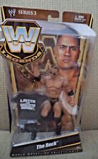 WWE LEGENDS SERIES 3 THE ROCK P9643 *NEW*