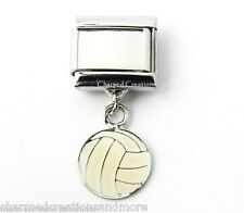 9mm Italian Charm Custom Photo DIY Volleyball Picture Sports Dangle Link