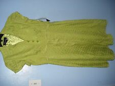 NWT Chartreuse Polka Dot Dress