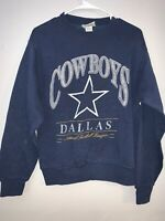 Vintage Dallas Cowboys NFL Lee Sport Made In USA Sweater Crewneck Women's Size L