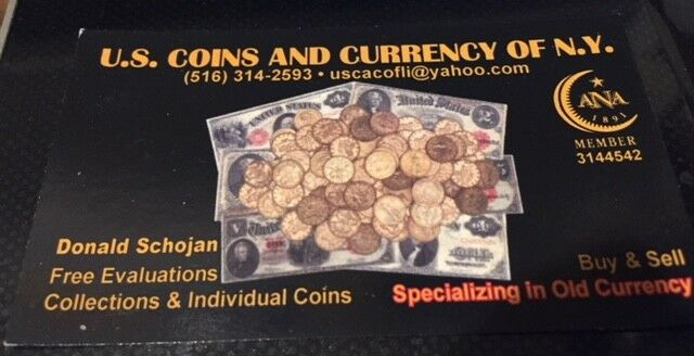 U.S.Coins and Currency of New York