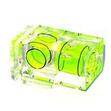 Bubble DSLR Spirit Level Gradienter Double Axis Camera Accessory