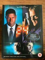 Kiefer Sutherland 24 Saison 2 DVD Coffret Classique TV Spy Action Thriller Série