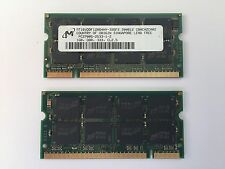2x 1GB 2GB DDR 333 Mhz Notebook Arbeitsspeicher RAM SO DIMM PC 2700 S Speicher