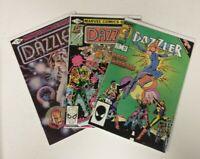 Marvel Comics Dazzler Lot Issue 1 2 40 Secret Wars II VF/NM