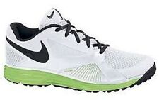 Nike Men's Lunar Edge 15 Running Shoe White/Black-Flash Lime