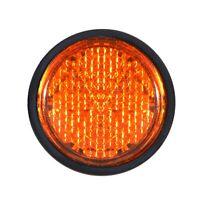 RICHTER Mini Chip Reflektor Katzenauge Rückstrahler 30 mm orange selbstklebend
