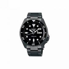 Seiko Herrenuhr SRPD65K1 Automatik Armbanduhr Sports Gangreserve 41 Std Black
