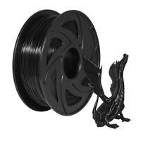 3D Printer Filament PETG Filament 1.75mm 2.2lbs(1kg) Spool Black  US STOCK