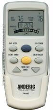 NEW ANDERIC Ceiling Fan Remote Control FAN9T Timer Thermostatic with Fan Time...
