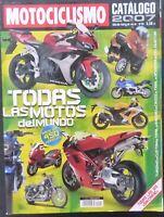 REVISTA MOTOCICLISMO,AÑO 2007,Catalogo 2007, Numero 26,Catalogo fuera de serie.