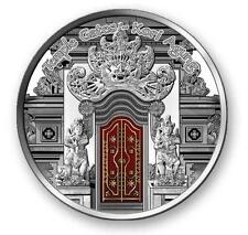 Fiji 2012 $10 Temple Gates - Kori Agung Balinese Temple 25g Silver Proof Coin