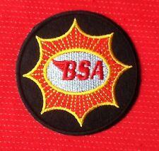 BSA MOTO Bantam Británico Vintage motero Insignia Hierro De Coser Parche escudo