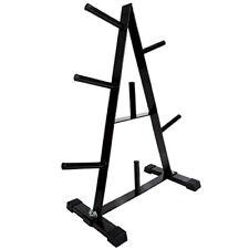 Scsports - soporte para pesas en forma de disco halteras color negro