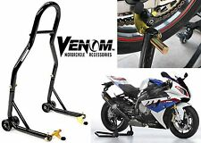 Venom Sport Motorcycle Rear Spool Lift Stands Bike Paddock New Free Shipping USA