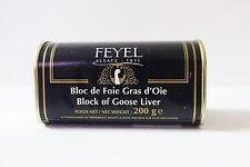 El foie gras d 'oie foie gras Bloc 200g original de francia tus propias obras maestras!