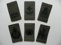 Royal Navy Rank Slides [pair] for MTP Clothing, other ranks. New & unused.