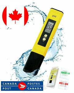 PH Meter High Accuracy Digital Water Quality Tester, Testing Range 0.00-14.00 Ph