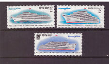 Russia USSR 1987 Ships - River Fleet of the USSR  set mint stamps