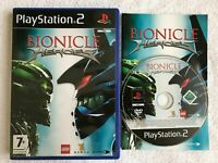 Bionicle Heroes Sony PlayStation 2 PS2 Complete CIB VERY Fast Shipping World!!!