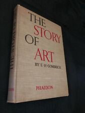The Story of Art E.H. Gombrich 1951 Hardcover Book Fouth Edition Revised Vintage