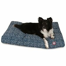 New listing Majestic Pet Teal Native Rectangle Indoor Outdoor Pet Dog Bed with Removable .