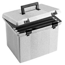 plastic file box ebay. Black Bedroom Furniture Sets. Home Design Ideas