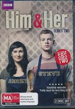 Him And Her Series Two Second 2 DVD NEW 2-disc Region 4