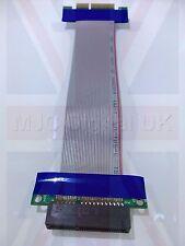 4x a 4x PCI-E Cavo Di Estensione Prolunga Flessibile RISER CARD UK STOCK UK Venditore