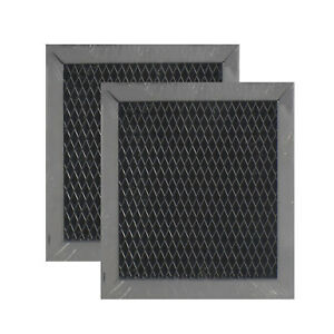 COMPATIBLE WHIRLPOOL 8206230A MICROWAVE HOOD CHARCOAL FILTER REPLACEMENT(2-Pack)
