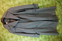 Vintage US Military Trench Rain Coat Army Green 274  Men's 36R   M07
