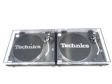 Technics SL1210 MK2 DJ Direct Drive Turntables Decks PAIR with Lids inc Warranty