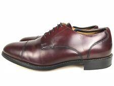 Bostonian Crown Windsor Derby First Flex Leather Burgundy Mens Size 11.5 C/A US