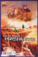 OLD MAN HAWKEYE 2 Apr 2018 9.4-9.6 NM/NM+ MARVEL - MARCO CHECCHETTO COVER!!!
