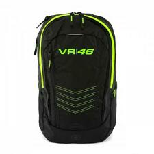 VR46 Official Valentino Rossi Apollo Race Day Rucksack Backpack - Black / Yellow