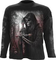 Spiral Direct SOUL SEARCHER - Long sleeve T-Shirt Reaper/Skull/Biker/Goth/Metal