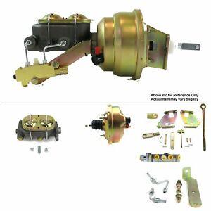 "1967-72 Chevy Truck FW Mount Power 8"" Single Brake Booster Kit LS Swap Disc/Disc"