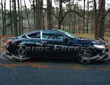 2013-2017 Honda Accord 2 Door Coupe 2Pc Chrome Pillar Post Stainless Steel