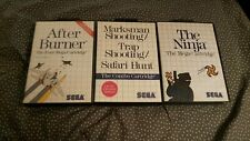 Lot de 3 jeux master system