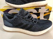 sports shoes d8dfd 04e67 ADIDAS PURE BOOST entrenador correr CM8298 nuevas tenis azul para hombre  Talla 11.5