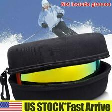 �Portable Ski Goggles Case Cycling Snowboarding Glasses Storage Carrier Bag Box
